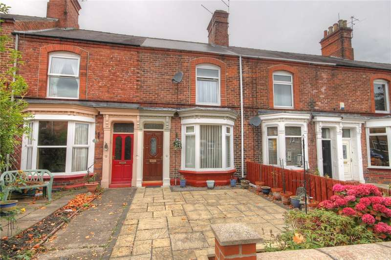 2 Bedrooms Terraced House for sale in Oxford Terrace, Bishop Auckland, County Durham, DL14