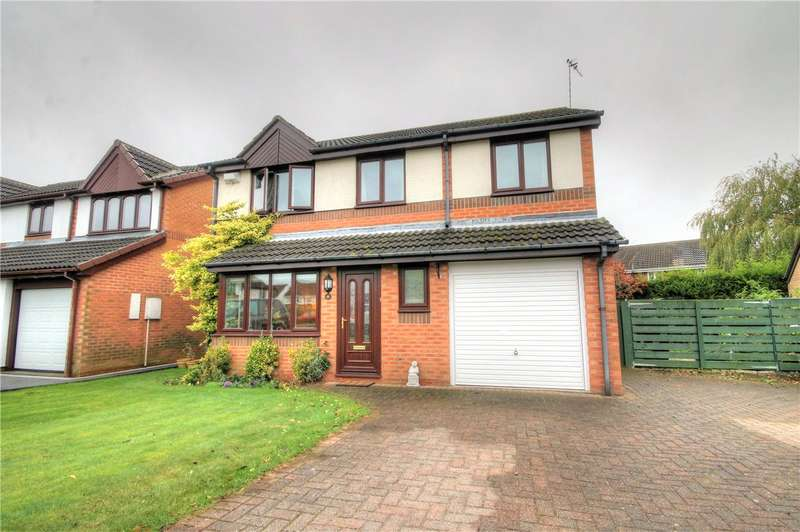 4 Bedrooms Detached House for sale in Bellerby Drive, Ouston, Co Durham, DH2