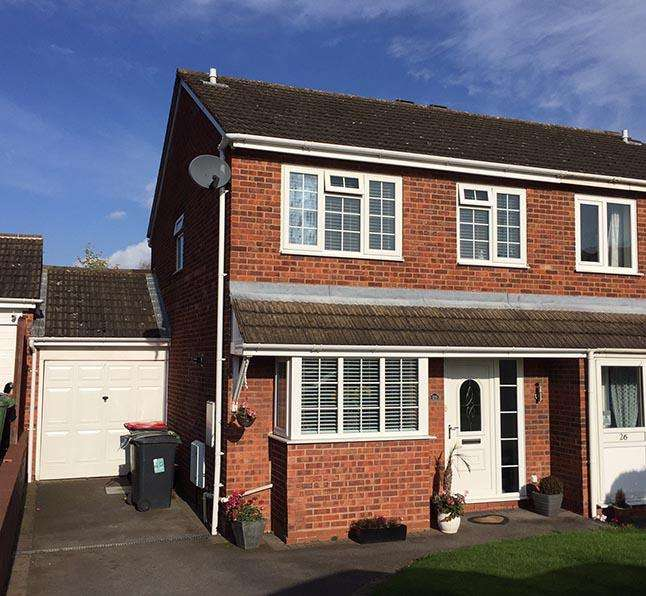 3 Bedrooms Semi Detached House for sale in Julius Drive, Coleshill, Coleshill, West Midlands, B46