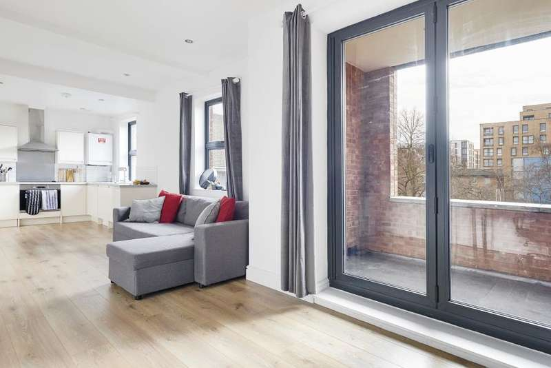 2 Bedrooms Apartment Flat for sale in Crossford Street, SW9
