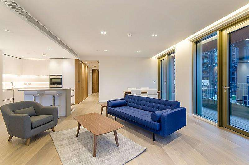 2 Bedrooms Flat for rent in Tapestry Apartments, 1 Canal Reach, King's Cross, London , N1C