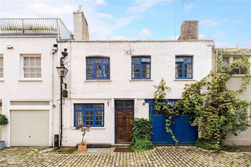 3 Bedrooms Mews House for sale in Clarkes Mews, Marylebone, London, W1G