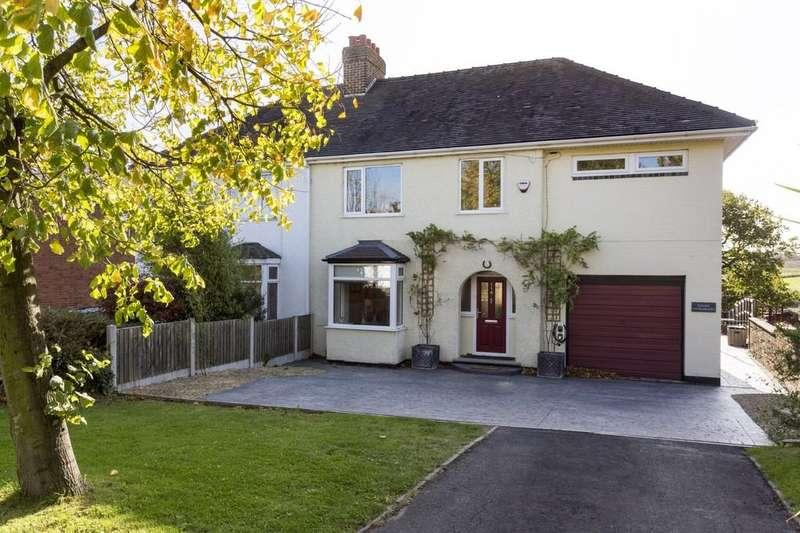 4 Bedrooms Semi Detached House for sale in Beamhill Road, Stretton
