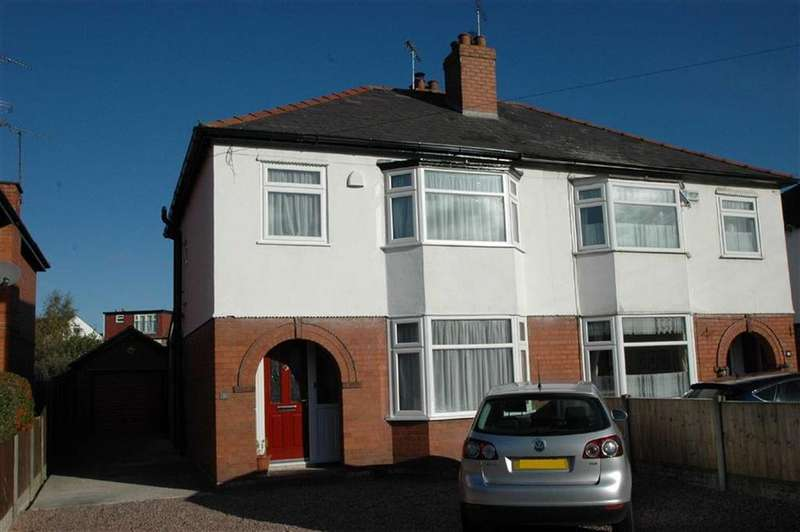 3 Bedrooms Semi Detached House for sale in Vicars Cross Road, Vicars Cross