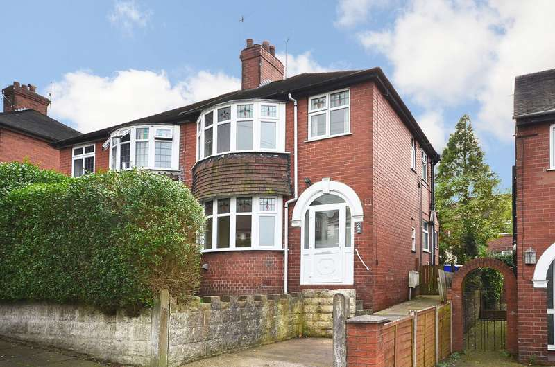 3 Bedrooms Semi Detached House for sale in Highfield Avenue Normacot ST3