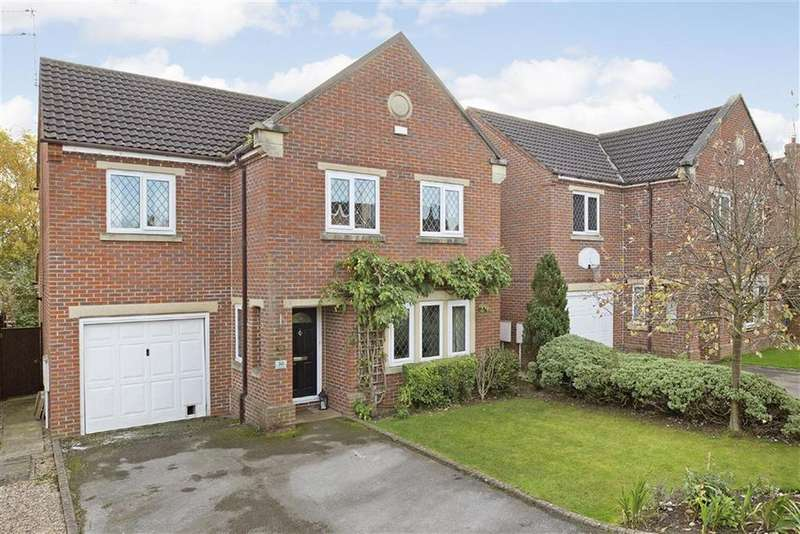 4 Bedrooms Detached House for sale in Pecketts Way, Harrogate, North Yorkshire