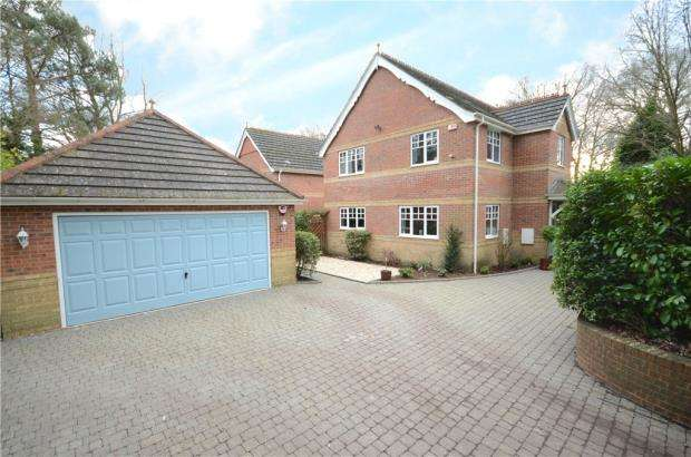 4 Bedrooms Detached House for sale in Sandy Lane, Sandhurst, Berkshire