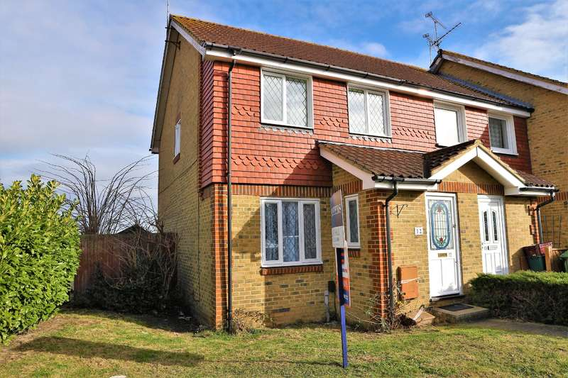 3 Bedrooms End Of Terrace House for sale in Moorhen Close, Erith , Kent , DA8 2HZ