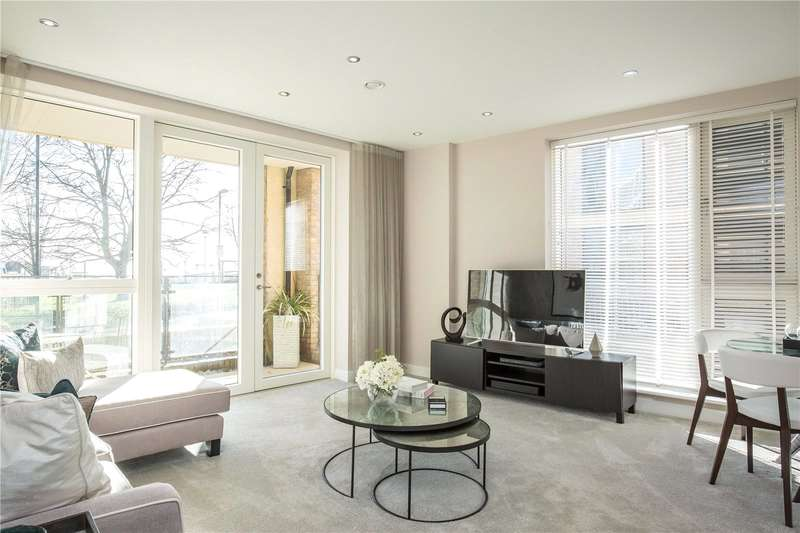 2 Bedrooms Apartment Flat for sale in The Moorhen A, Henry Darlot Drive, Millbrook Park, Mill Hill, NW7