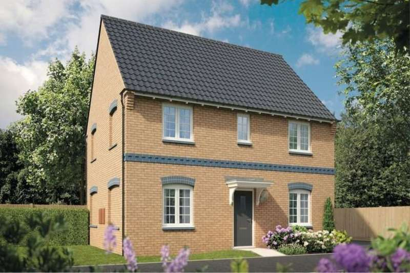 4 Bedrooms Detached House for sale in Sherwood Ashberry Homes Robins Wood Road, Nottingham, NG8