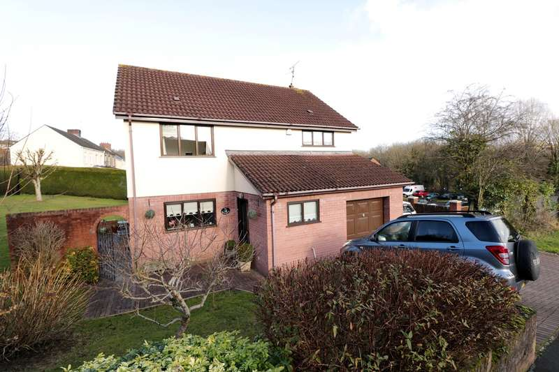 4 Bedrooms Detached House for sale in Forge Close, Caerleon, Newport, NP18