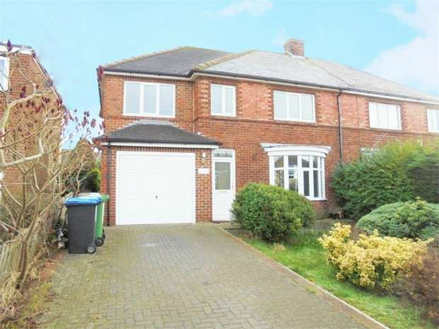 4 Bedrooms Semi Detached House for sale in Spring Lane, Sedgefield, Stockton-on-Tees, Durham