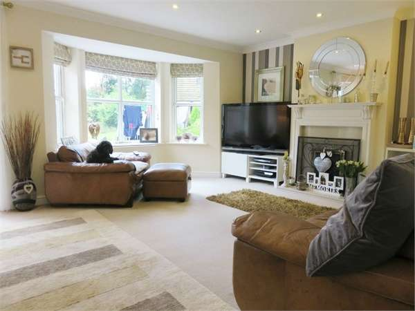4 Bedrooms Detached House for sale in Hollyhurst Court, Riddings, Alfreton, Derbyshire