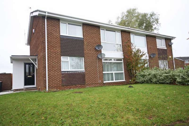 2 Bedrooms Ground Flat for sale in Thropton Close, Waldridge Park, Chester-le-Street DH2 3HW