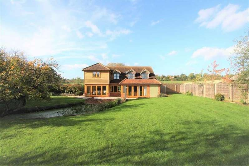 4 Bedrooms Detached House for sale in Old Portsmouth Road, Artington, Guildford, Surrey, GU3