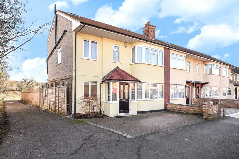 4 Bedrooms End Of Terrace House for sale in Whitby Road, Ruislip Manor, Middlesex, HA4