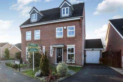 3 Bedrooms Semi Detached House for sale in Penshurst Road, Bromsgrove