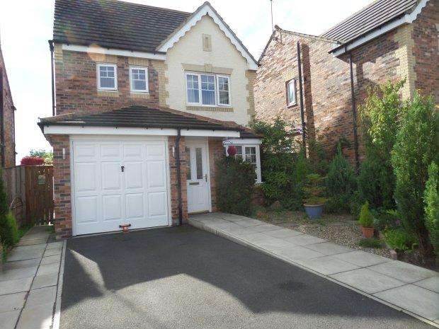 4 Bedrooms Detached House for sale in ST CUTHBERTS WAY, BISHOP AUCKLAND, BISHOP AUCKLAND