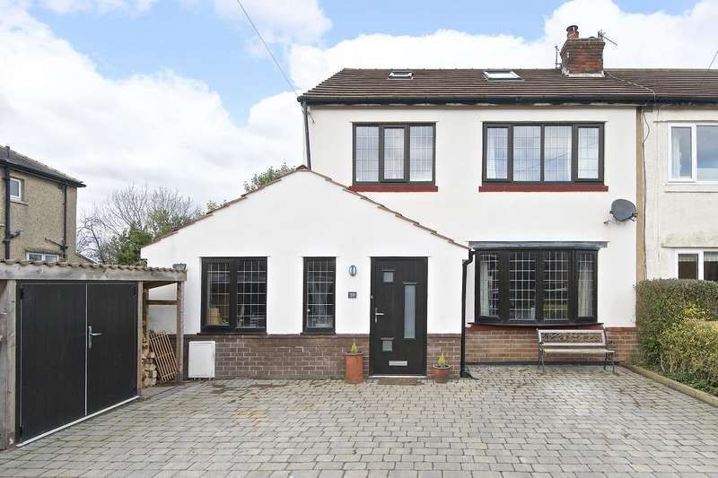 4 Bedrooms Semi Detached House for sale in West Busk Lane, Otley, LS21