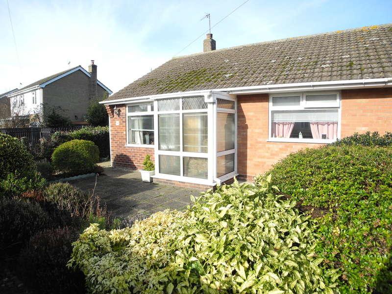 2 Bedrooms Detached Bungalow for sale in Saxon Road, Pakefield, Lowestoft