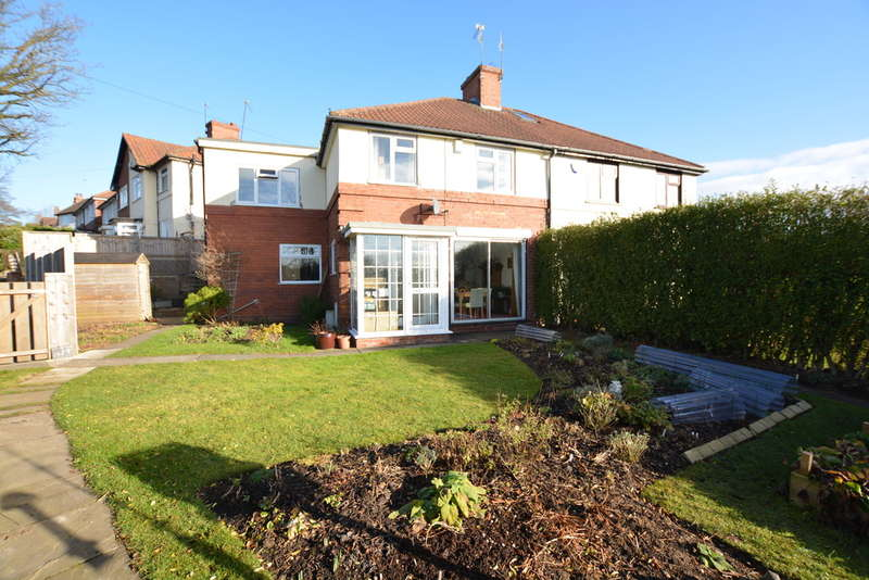 3 Bedrooms Semi Detached House for sale in Fellows Lane, Harborne
