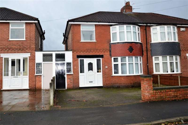 4 Bedrooms Semi Detached House for sale in Arderne Road, TIMPERLEY, Cheshire