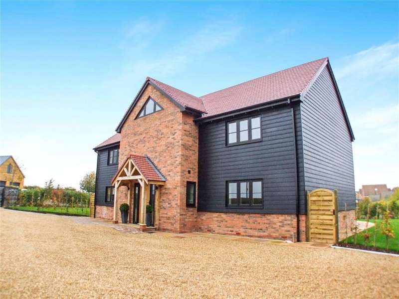 4 Bedrooms Detached House for sale in Winsor Crescent, Hampton Vale, Peterborough, Cambridgeshire, PE7
