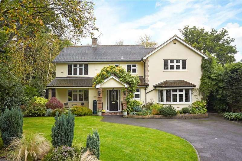 4 Bedrooms Detached House for sale in Burnhams Road, Bookham, Leatherhead, Surrey, KT23