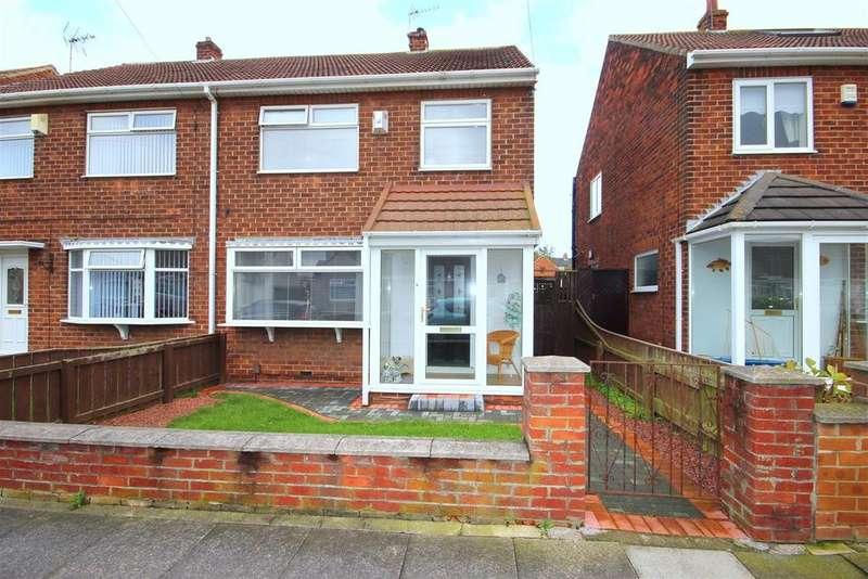 3 Bedrooms Semi Detached House for sale in Lawson Road, Seaton Carew, Hartlepool
