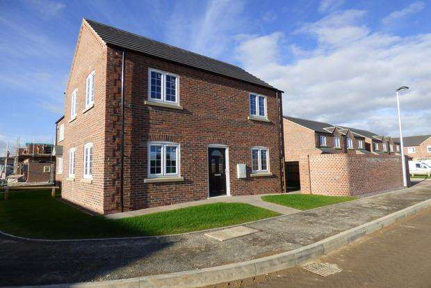 3 Bedrooms Semi Detached House for sale in Gibson Way, Grimoldby, LN11
