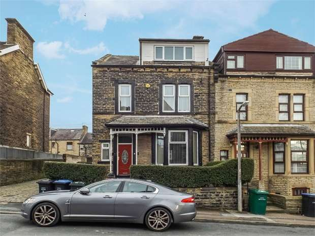 6 Bedrooms End Of Terrace House for sale in Fairfield Road, Bradford, West Yorkshire
