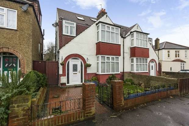 4 Bedrooms Semi Detached House for sale in Riverview Park, London