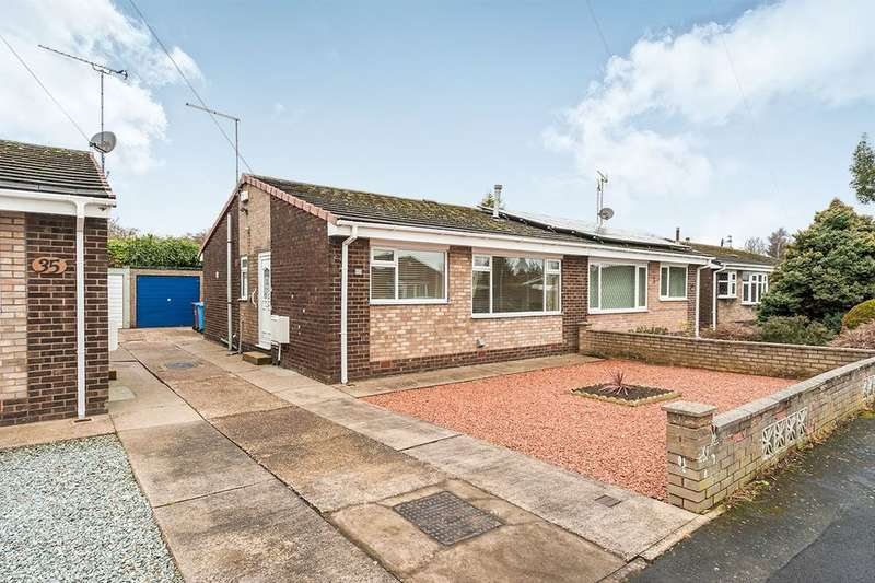 2 Bedrooms Semi Detached Bungalow for sale in Winchester Close, Hull, HU9