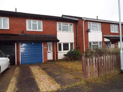 3 Bedrooms Terraced House for sale in Langford Close, Wrexham, Wrecsam, LL13