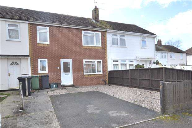 3 Bedrooms Terraced House for sale in Queens Close, Hucclecote, GLOUCESTER, GL3 3LT