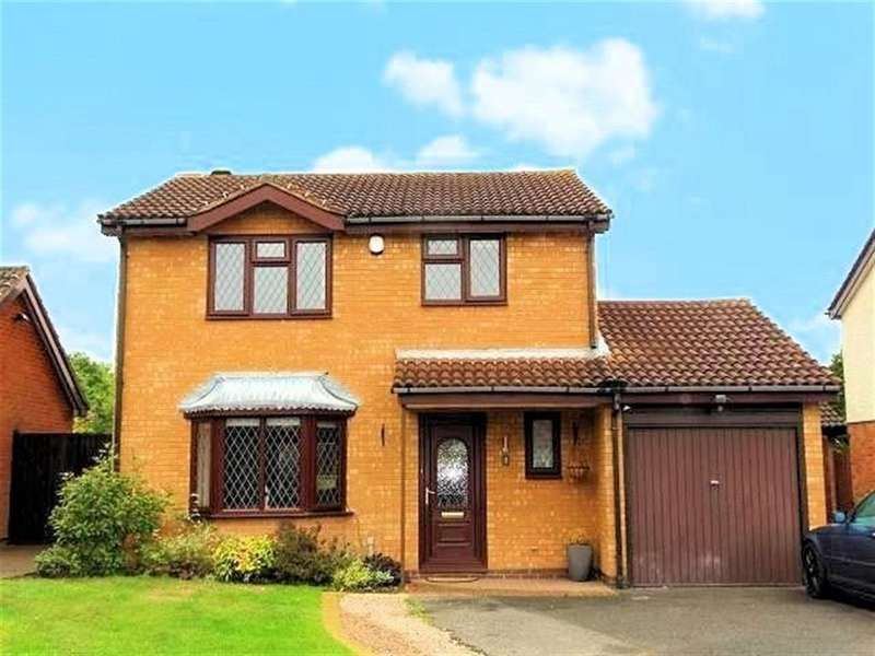 3 Bedrooms Detached House for sale in Whitemoor Drive, Shirley, Solihull, West Midlands