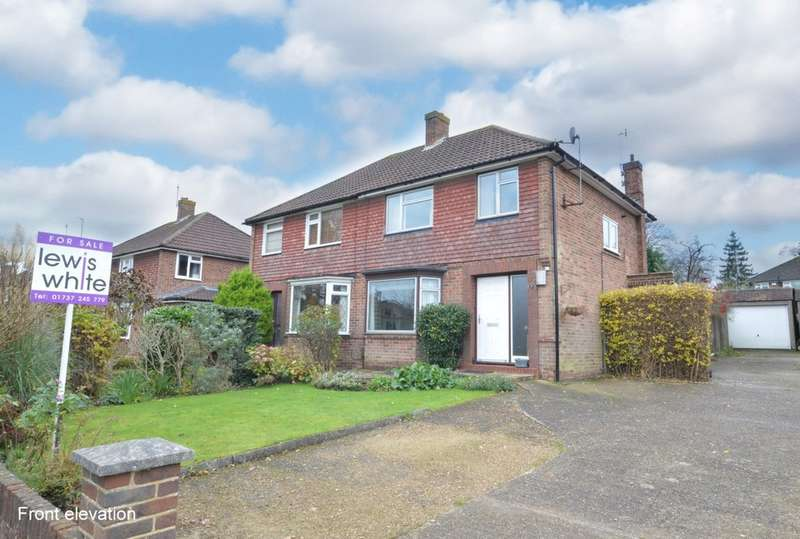 3 Bedrooms Semi Detached House for sale in Weald Way, Reigate