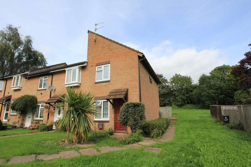 2 Bedrooms End Of Terrace House for sale in Valley Path, Newton Abbot
