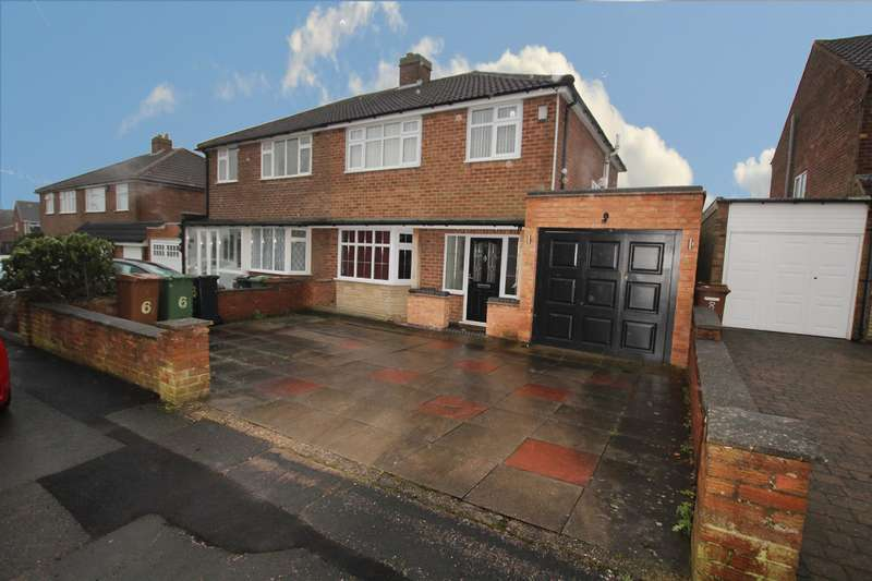 3 Bedrooms Semi Detached House for sale in Elmtree Road, Sutton Coldfield, B74 3RY