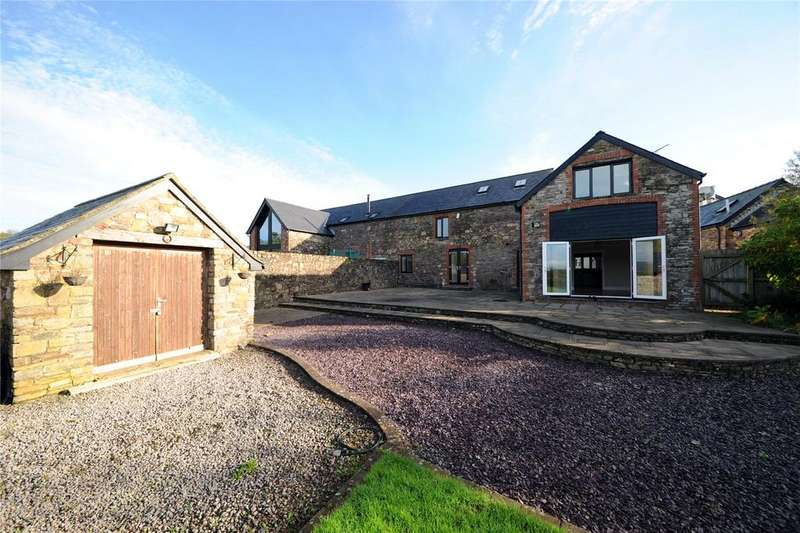 4 Bedrooms Barn Conversion Character Property for sale in Tyn-y-Brwyn Farm, Coedkernew, Newport, NP10