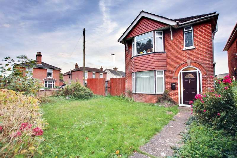 4 Bedrooms Detached House for sale in Sholing, Southampton