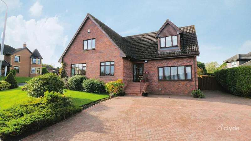 5 Bedrooms Detached House for sale in Regency Court, Hamilton, South Lanarkshire, ML3 7EA