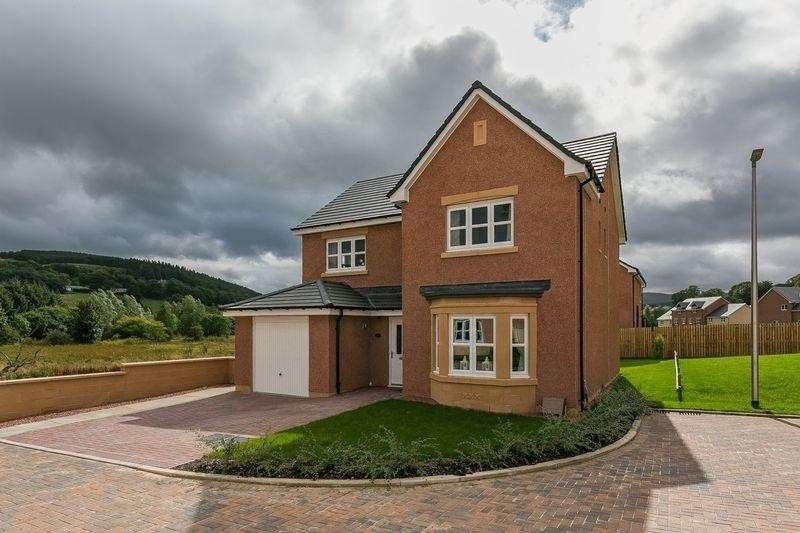 4 Bedrooms Property for sale in 20 Standalane View, Peebles, Scottish Borders, EH45 8LS