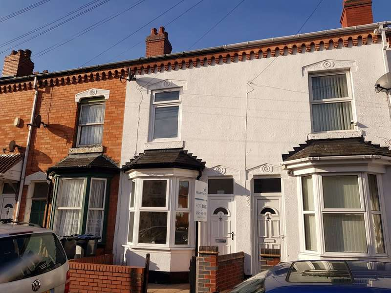3 Bedrooms Terraced House for sale in Ernest Road, Sparkhill, Birmingham B12