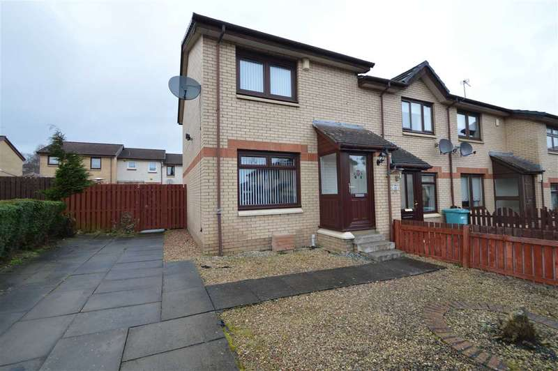 2 Bedrooms End Of Terrace House for sale in Holmes Quadrant, Bellshill