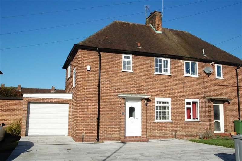 2 Bedrooms Semi Detached House for sale in Egerton Road, Wilmslow, Cheshire