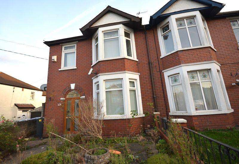 3 Bedrooms Semi Detached House for sale in Wentloog Road, Rumney, Cardiff. CF3