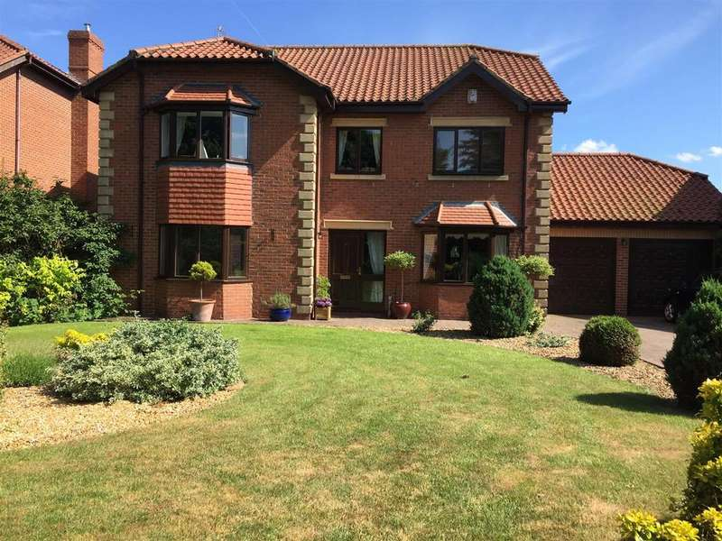 5 Bedrooms Detached House for sale in Wynyard Court, Thorpe Thewles, Stockton-On-Tees