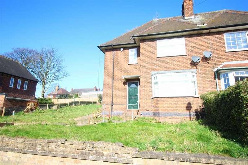 3 Bedrooms Semi Detached House for sale in Henley Rise, Sherwood, Nottingham, Nottinghamshire NG5