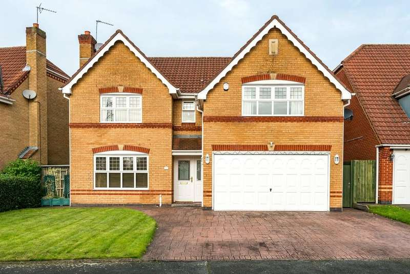 4 Bedrooms Detached House for sale in Wedgewood Gardens, Rainhill, St. Helens